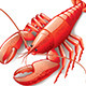 Cooked Lobster - GraphicRiver Item for Sale