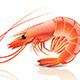 Cooked Shrimp - GraphicRiver Item for Sale