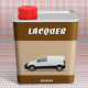 Lacquer Tin Mock-Up - GraphicRiver Item for Sale
