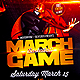 March Game Basketball Flyer Template - GraphicRiver Item for Sale