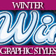 Set of Clean Cold Winter Styles for Various Design - GraphicRiver Item for Sale