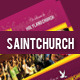 Saint Church TriFold Brochure - GraphicRiver Item for Sale