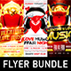 Valentine`s Day party flyer bundle - GraphicRiver Item for Sale