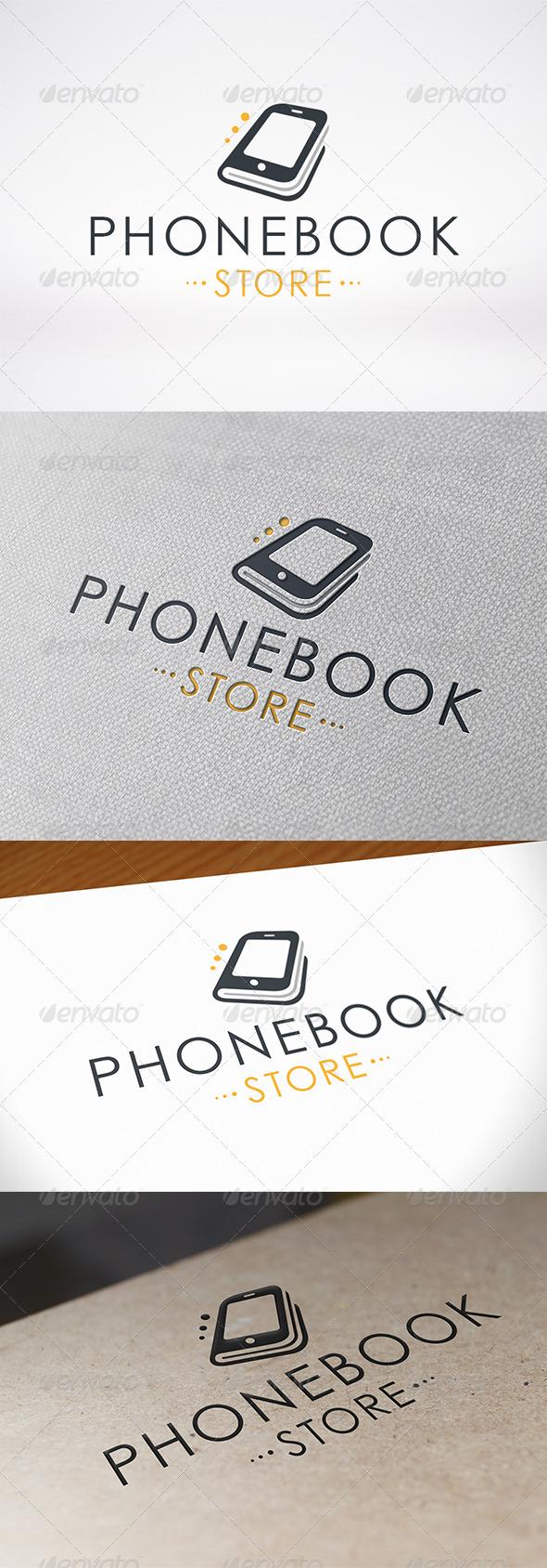 GraphicRiver Phone Book Logo Template 6732160