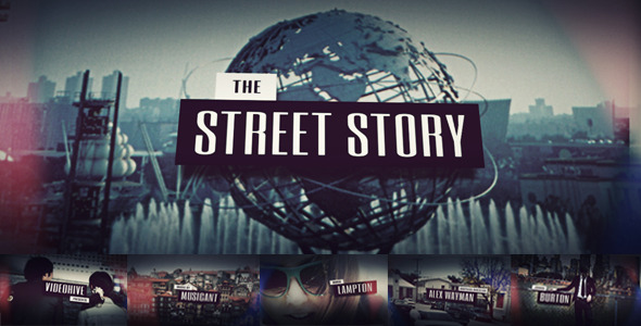 After Effects Project - VideoHive The Street Story 705909