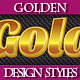 Set of Various Luxury Golden Text Graphic Styles - GraphicRiver Item for Sale