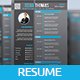 Job Resume/CV Template - GraphicRiver Item for Sale