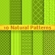 Natural Seamless Patterns - GraphicRiver Item for Sale