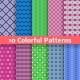 Colorful Seamless Patterns - GraphicRiver Item for Sale