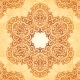 Ornate Vintage Seamless Pattern in Mehndi Style - GraphicRiver Item for Sale