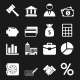 White Business Icons Set - GraphicRiver Item for Sale