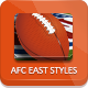 NFL Football Styles - AFC East - GraphicRiver Item for Sale