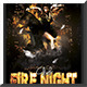 Fire Night Flyer Template - GraphicRiver Item for Sale