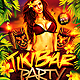 Tiki Bar Party Flyer Template v2 - GraphicRiver Item for Sale