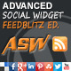 Advanced Social Widget Feedblitz Edition - CodeCanyon Item for Sale