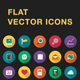 Flat Vector Icons - GraphicRiver Item for Sale
