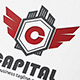 Capital Letter Crest Logo - GraphicRiver Item for Sale