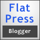 Flat Press - Responsive Blogger Template - ThemeForest Item for Sale