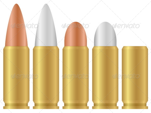 Graphic River Bullets Vectors -  Objects 707950