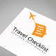 Travel Checklist Logo Template - GraphicRiver Item for Sale