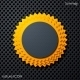 Summer Sun Icon - GraphicRiver Item for Sale