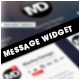 Message Widget - GraphicRiver Item for Sale