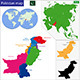 Pakistan Map - GraphicRiver Item for Sale