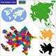 Azerbaijan Map - GraphicRiver Item for Sale