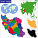 Iran Map - GraphicRiver Item for Sale