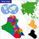 Iraq Map - GraphicRiver Item for Sale