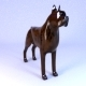 bronze dog - 3DOcean Item for Sale