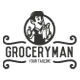 Vintage Grocery Man Logo - GraphicRiver Item for Sale