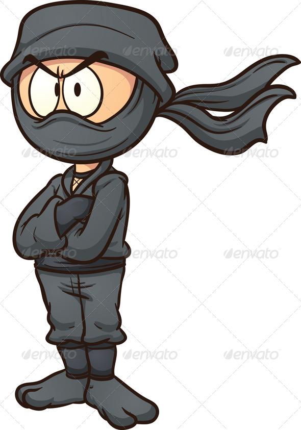 cartoon ninja clip art - photo #10