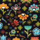 Vector Flowers Seamless Pattern Set - GraphicRiver Item for Sale