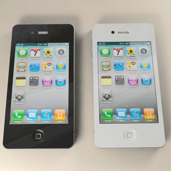 3DOcean Apple iPhone 4G 3D Models -  Electronics  Phone 238055