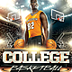 March College Basketball Flyer - GraphicRiver Item for Sale