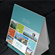 Desk Calendar Mock-Up (13cm x 10cm) - GraphicRiver Item for Sale