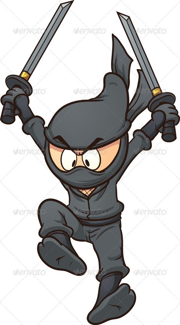 cartoon ninja clip art - photo #5