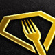Diamond, Fork Vector Logo Template - GraphicRiver Item for Sale