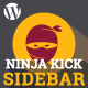 Ninja Kick Sidebar: Custom Content - CodeCanyon Item for Sale