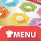 9 Food Icons & Menu Elements - GraphicRiver Item for Sale