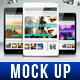 Screen Mock Up - GraphicRiver Item for Sale