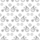 Vintage Bicycle Seamless Vector Background - GraphicRiver Item for Sale