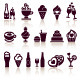Set Food Icons - GraphicRiver Item for Sale