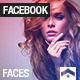 Facebook · Faces - GraphicRiver Item for Sale