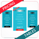 Clean Web Pricing Tables - GraphicRiver Item for Sale