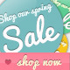 Online Shop Badges for Spring & Summer - GraphicRiver Item for Sale