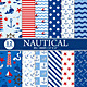 Nautical Digital Paper Pack - GraphicRiver Item for Sale