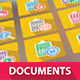 9 Documents Icons - GraphicRiver Item for Sale