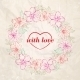 Floral Wreath Valentine Design - GraphicRiver Item for Sale